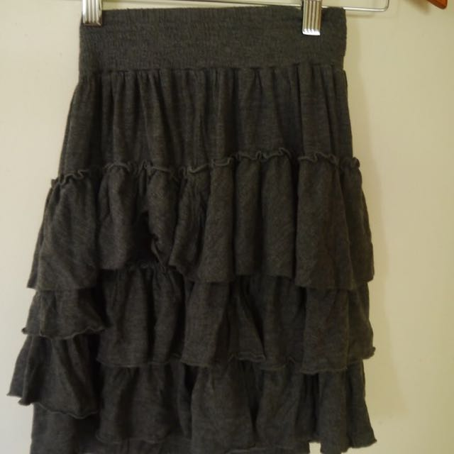 MARCS GREY SKIRT
