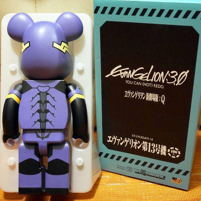 Medicom Toy x Evangelion:3.0 Evagelion 13 EVA 13號機 400% Bearbrick Be@rbrick