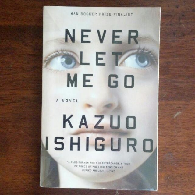 RESERVED Never Let Me Go by Kazuo Ishiguro