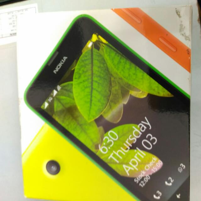 Nokia Lumia 630 Box Only