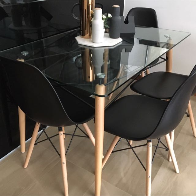 *SOLD Pending Pickup* Nordic Dining Table