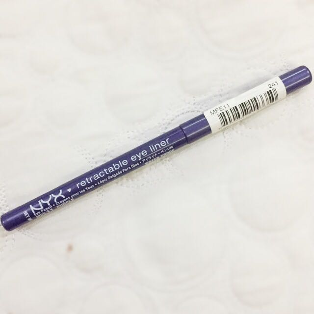 NYX Waterproof Purple Eyeliner