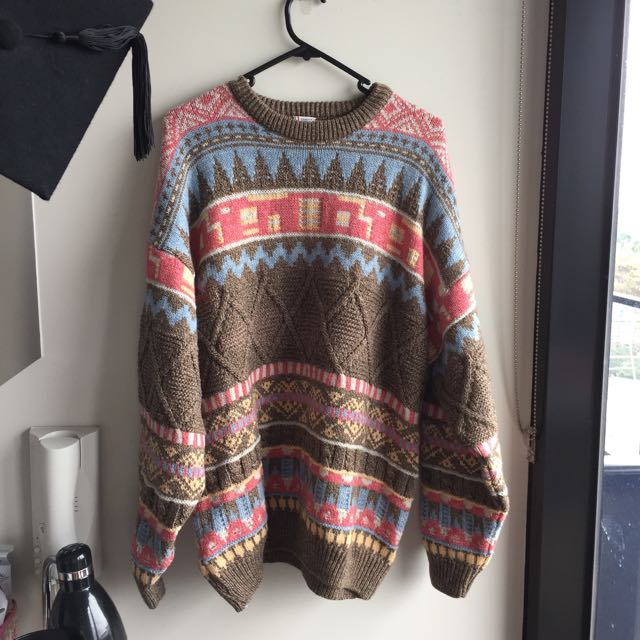 Oversized Vintage Sweater