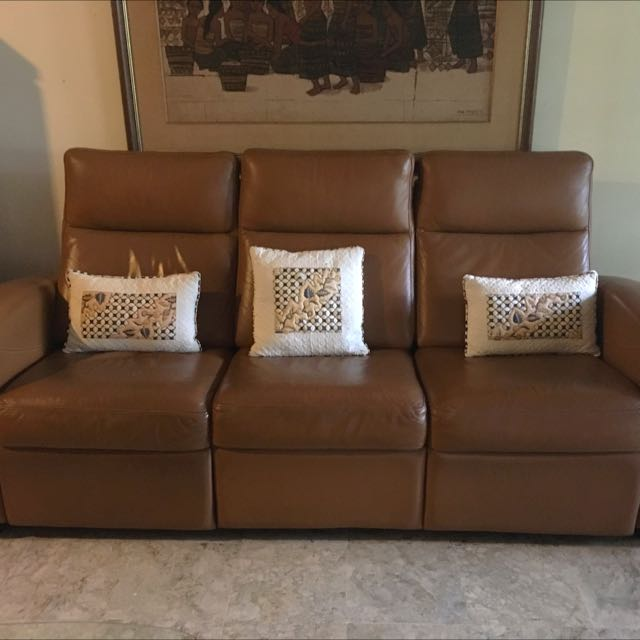 Preloved Recliner Sofa