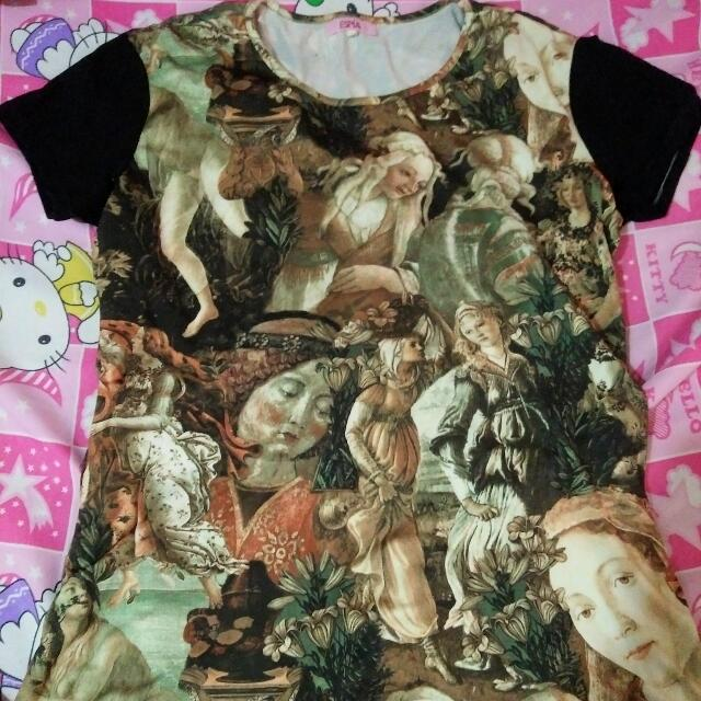 preloved renaissance blouse