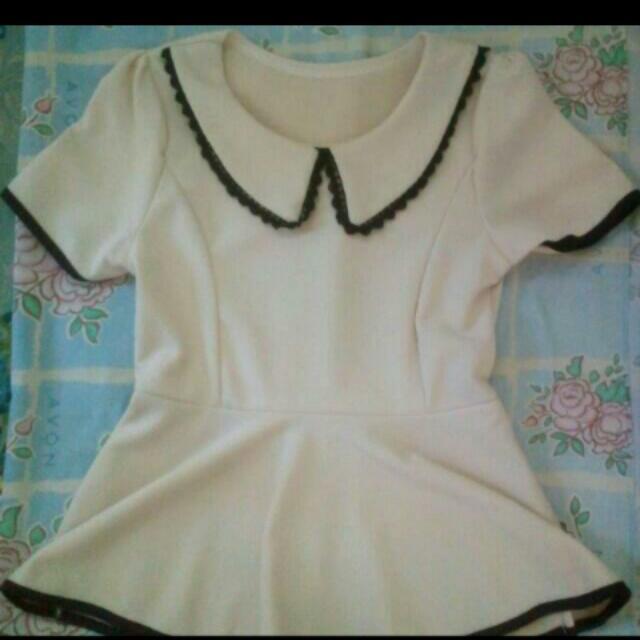 📍REPRICE📍 Cream blouse