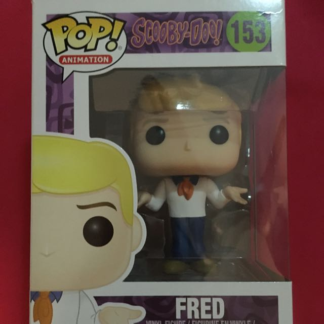 (Reserved)Scooby Doo Fred Funko Pop