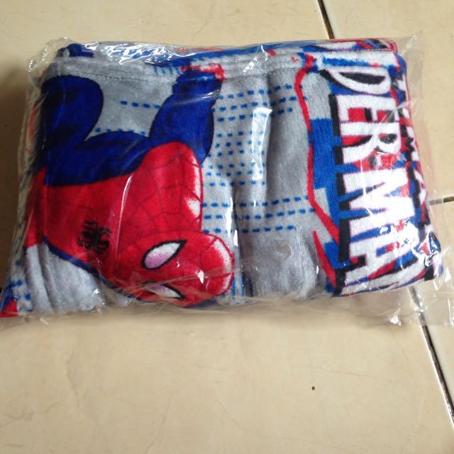 Selimut Spiderman