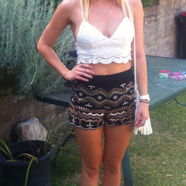 Sequin Shorts Dotti