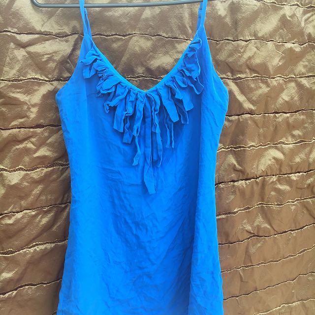Sexy Lil Blue Dress