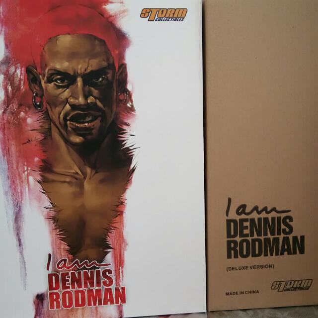 STORM TOYS DENNIS RODMAN.. EXCLUSIVE Version....