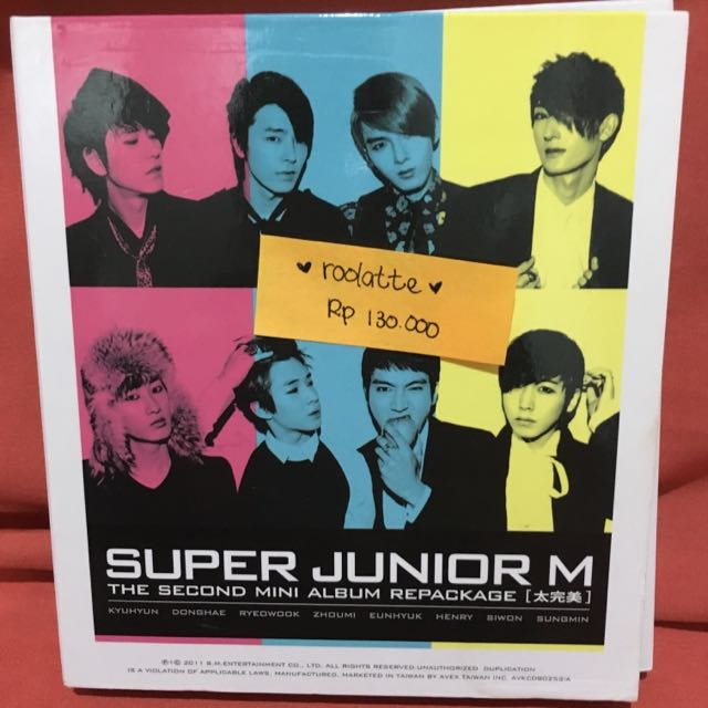 Super Junior-M - Perfection (Repackage)