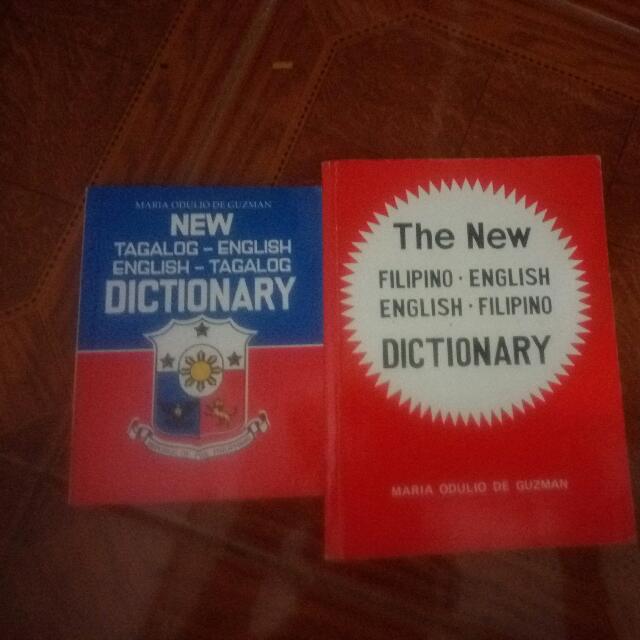 Tagalog -English Dictionary