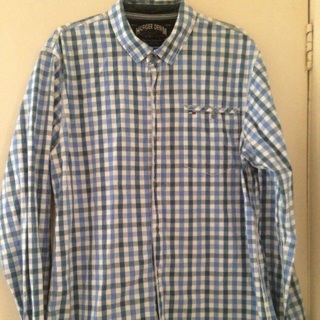 Tommy Hilfiger Shirt Size Xlarge