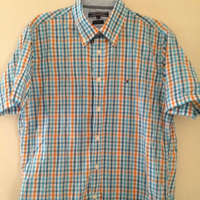 Tommy Hilfiger Short Sleeve Shirt Size M