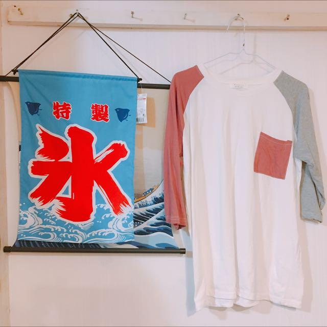 三色T-shirt