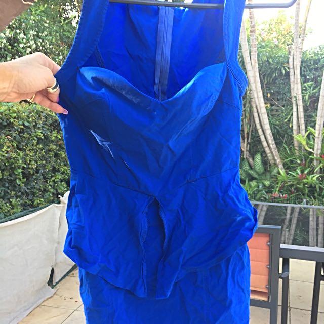 Valley Girl Royal Blue Dress