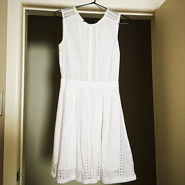 Vila White Sundress