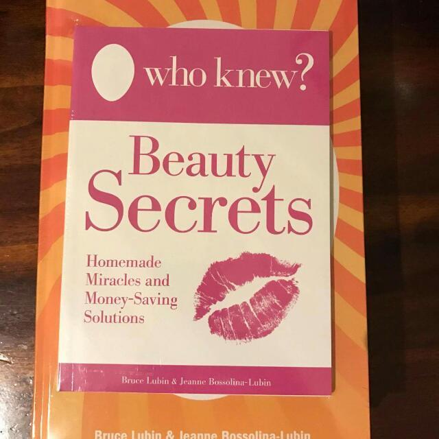 WHO KNEW? Beauty secrets