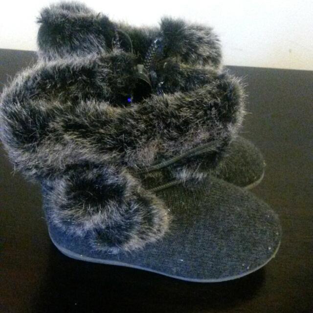 Winter Baby Booties