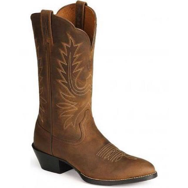Women's Heritage Western R-toe Boots