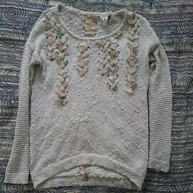 Worn Once Sz XS Anthropologie Akemi+Kim Sweatet