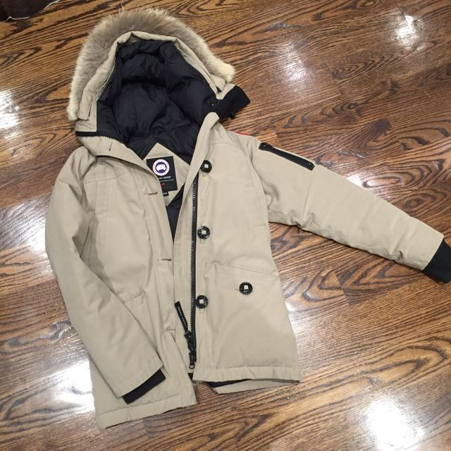 XS Tan Canada Goose Jacket For Sale