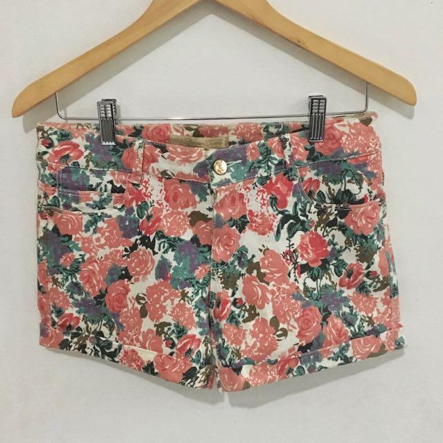 Zara (Replica) Floral Short Pants