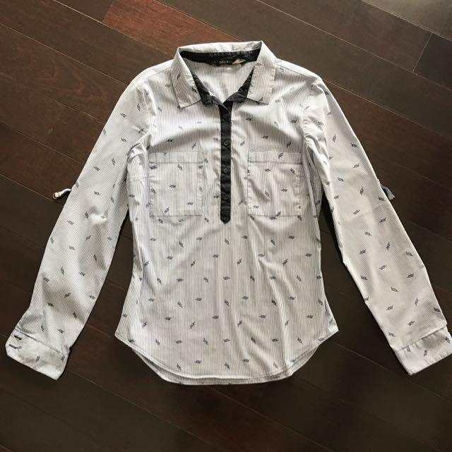 Zara Basic Shirt Blue (M)