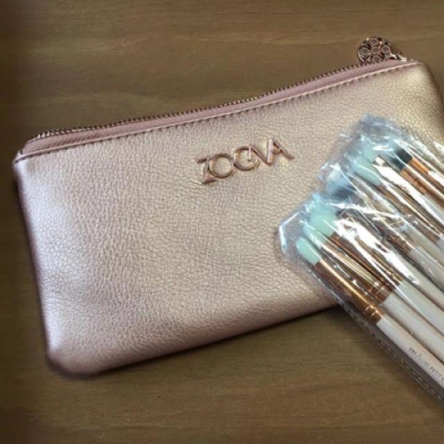 ZOEVA Rose Golden Complete Eye Set - 12pcs -valued At $110!!