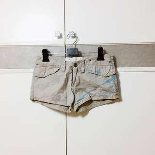 二手灰色短熱褲S號