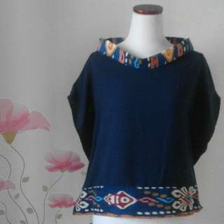 Blouse Navy Blue