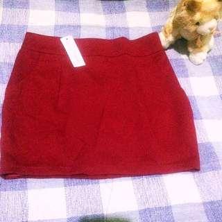 Rok Polos Merah