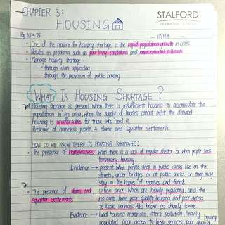 geography notes sec 2