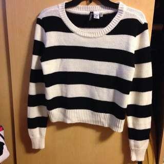 Knit Sweater Size Small H&M