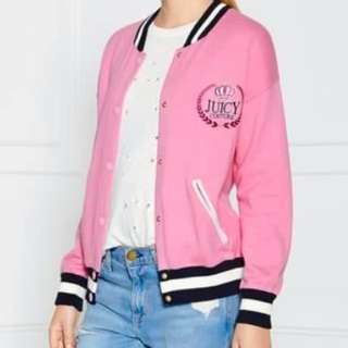 Juicy Couture Varsity Bomber Sweater