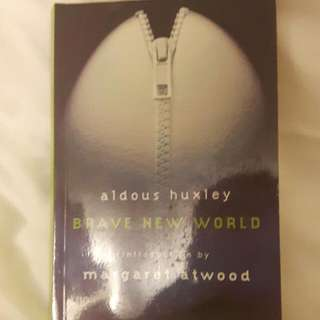Brave New World by Margaret Atwood