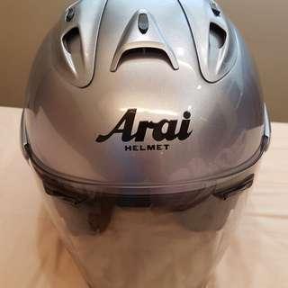 Arai Ram 4 Sapphire Silver