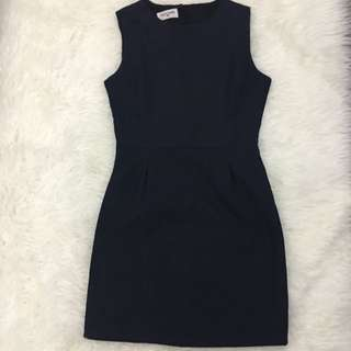 Navy Backless Dress By This Is April