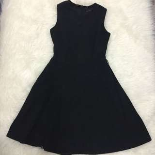 Casual Black Dress By Executive
