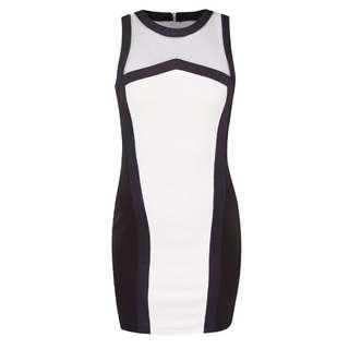 Something Borrowed Contrast Binding Bodycon Dress