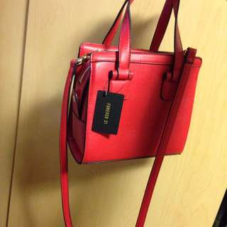 Small Red Purse F21