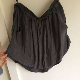 Sports girl Charcoal Skirt With PocketS