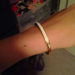 Kate Spade White/gold Bracelet