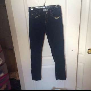 Hollister Jeans -dark Blue- Stretchy