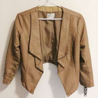 Dynamite Leather Sweater