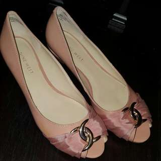Nine West Blush Pink Ballerina Flats