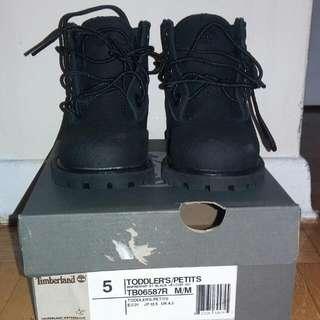 Baby Boy Timberlabd Black Boots