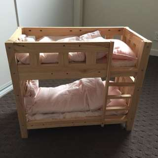 Barbies Or Dolls Bunk Bed