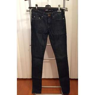BRAND NEW Urban Outfitters Denim Jeans (DARK BLUE, SIZE 25)